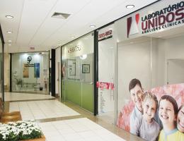 Unidade de Coleta Laboratório Unidos - Beiramar Shopping em Florianópolis